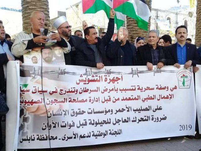 اللجنة الوطنية تدعو لمسيرة حاشدة تضامنا مع اضراب الكرامة والحرية