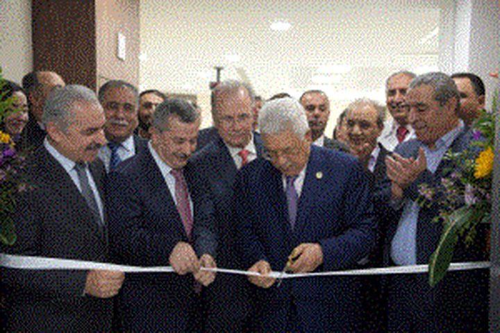 مصطفى: افتتاح قسم الأورام رسالة أن دولة فلسطين قادرة
