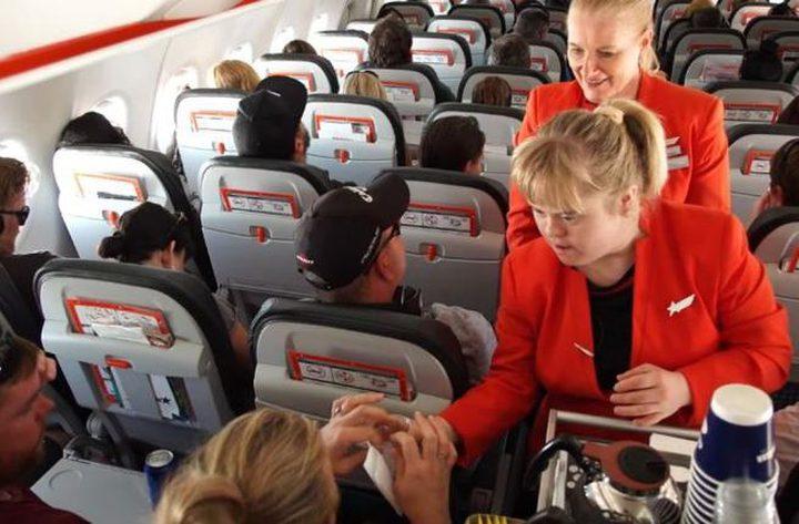 أول فتاة مصابة بمتلازمة داون تشغل منصب مضيفة طيران