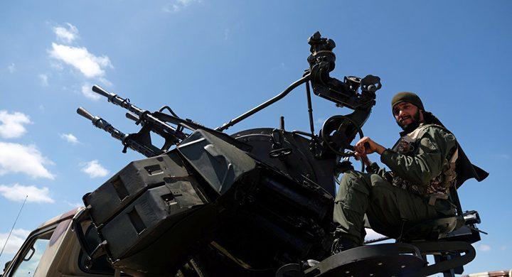 الجيش الليبي يعلن إسقاط طائرة تابعة لحكومة الوفاق الوطني