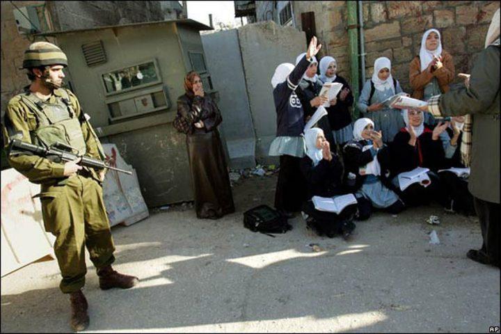 """""""البرامج التعليمية"""" تدعو لتوفير الحماية للمدارس الفلسطينية"""