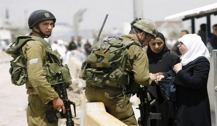 الاحتلال يعتقل فتاة على حاجز عسكري في القدس