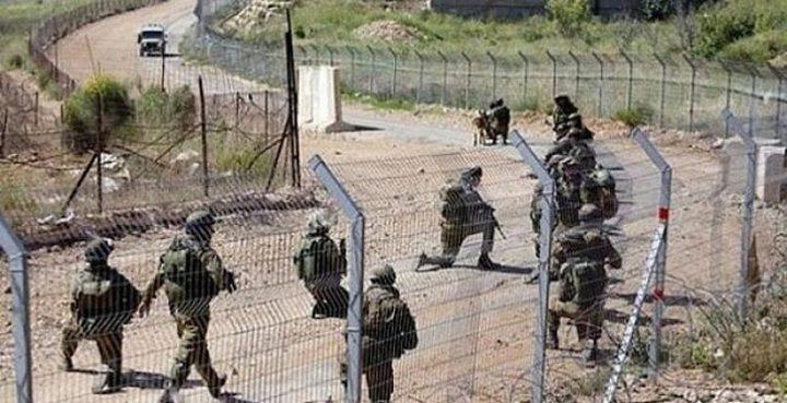الاحتلال ينصب بوابة حديدية جديدة على الحدود اللبنانية