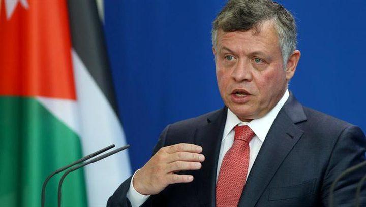 العاهل الأردني: ضرورة تكثيف الجهود لإنهاء الصراع الإسرائيلي