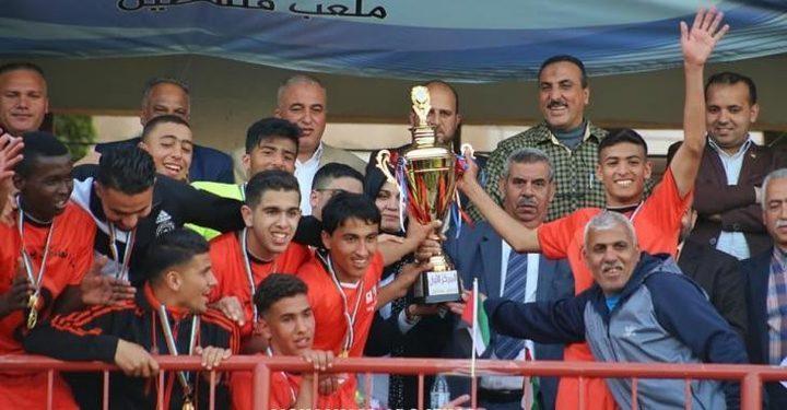 اتحاد خانيونس يهزم شباب الخليل ويتوج بلقب كأس فلسطين للشباب 2019