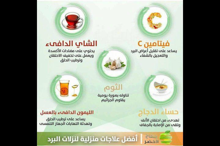 أفضل علاجات منزلية لنزلات البرد