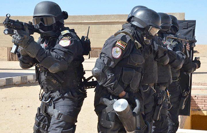 الداخلية المصرية تعلن القضاء على خلية إرهابية بالعريش