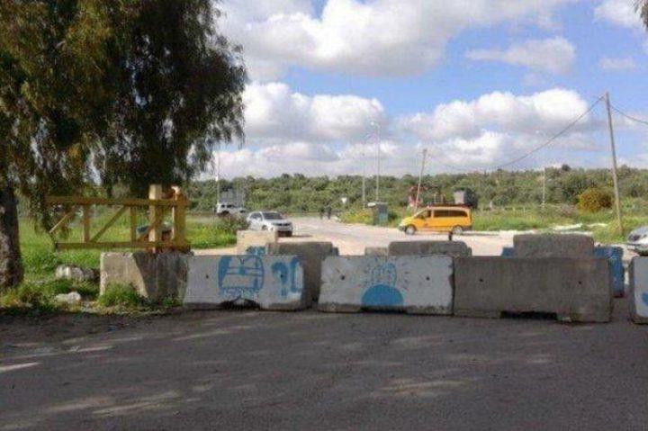 الاحتلال يُواصل إغلاق مدخل بلدة عزون لليوم الـ 15