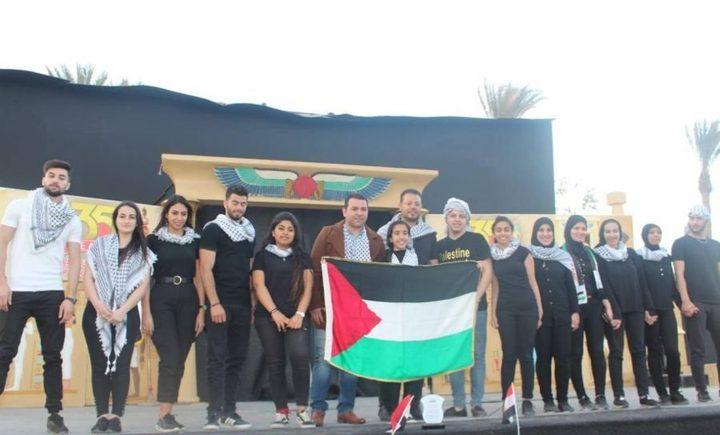 فلسطين تحصد المركز الأول في المهرجان الثقافي في القاهرة