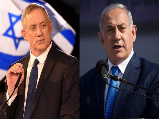 نتنياهو لغانتس: سنعيد إسرائيل إلى الهدوء
