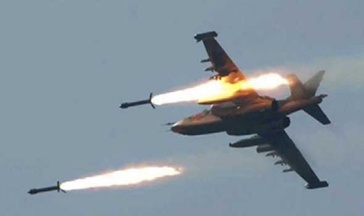 سلاح الجو الليبي يغير على معسكر تابع لميليشيات طرابلس