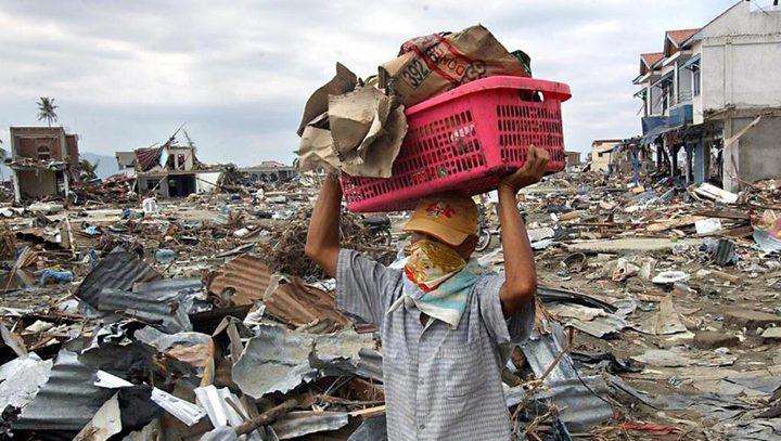 زلزال بقوة 6.8 درجات يضرب إندونيسيا