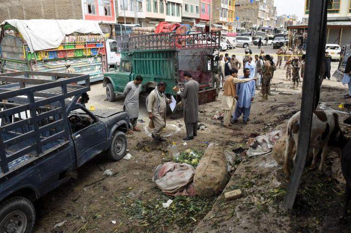 مقتل العشرات إثر انفجار ضخم في سوق جنوب غربي باكستان