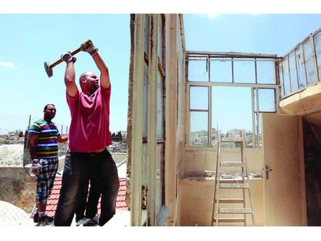 """الاحتلال يجبر عائلة مقدسية على هدم منزلها في """"حارة السعدية"""""""