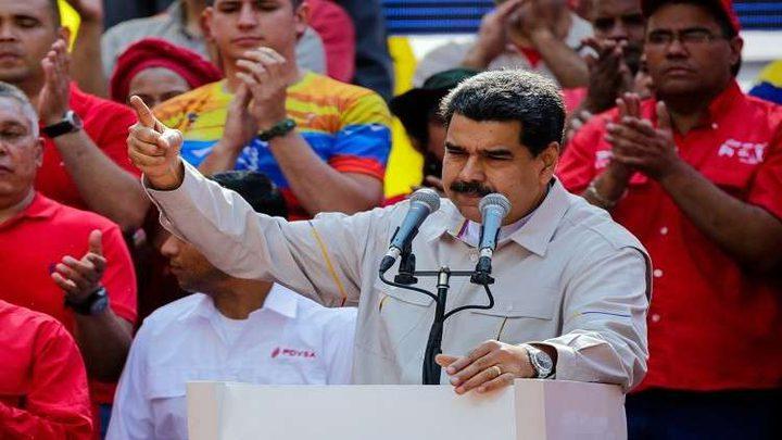 مادورو يحذر البرازيل من أي تدخل عسكري في بلاده
