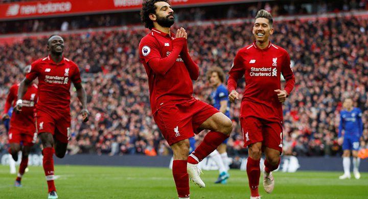 ليفربول يفوز على تشيلسي2-0 في الدوري الانجليزي