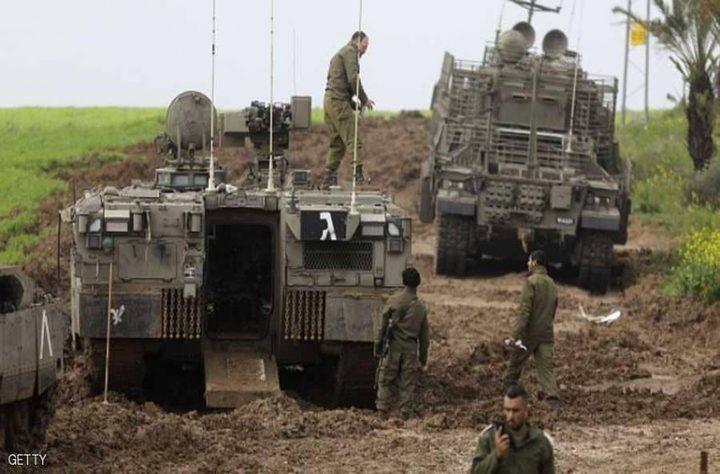 الاحتلال يخفض التعزيزات العسكرية على حدود غزة