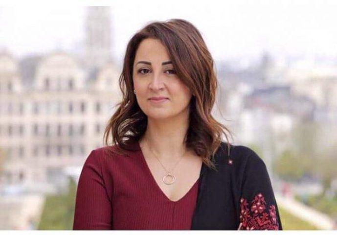 ليلى وافي أول فلسطينية تترشح للبرلمان البلجيكي