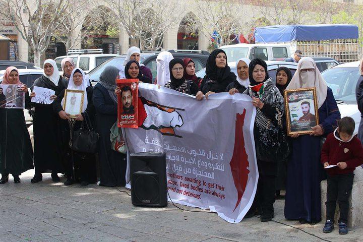 فعاليات تضامنية مع الأسرى المضربين عن الطعام في بيت لحم يوم الأحد 14/4/2019.