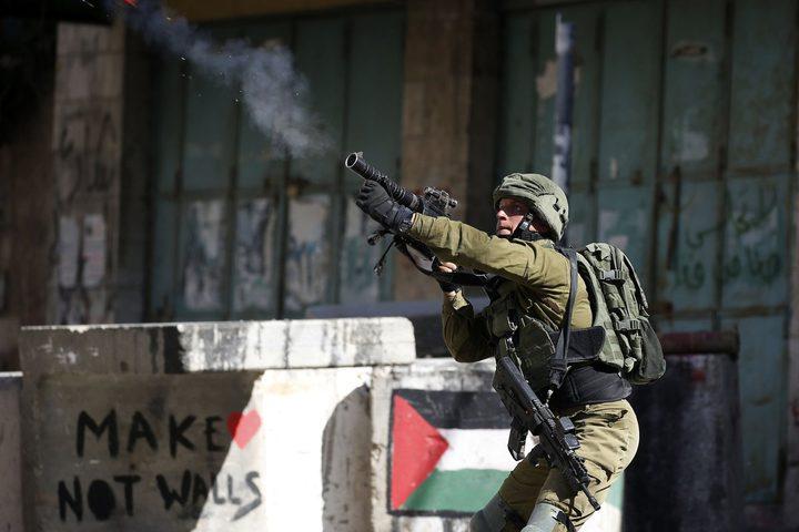 الاحتلال يعتقل شابين خلال مواجهات  في سبسطية شمال نابلس