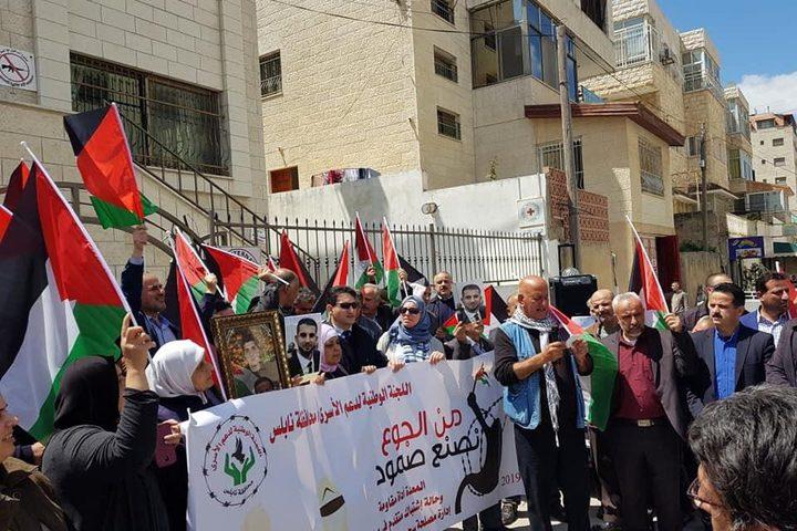 جنين: مطالبة بتوسيع دائرة التضامن مع الأسرى وذويهم