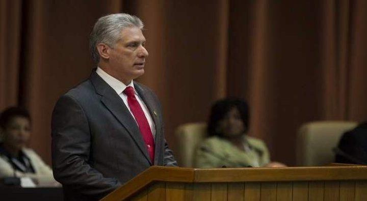 الرئيس الكوبي: الولايات المتحدة تنفذ حملة اضطهاد مالي خانق