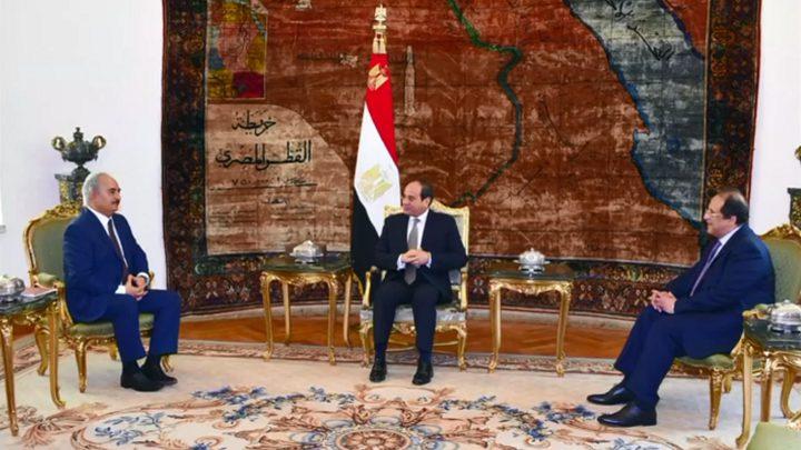 لماذا زار حفتر القاهرة في هذا التوقيت والتقى السيسي؟
