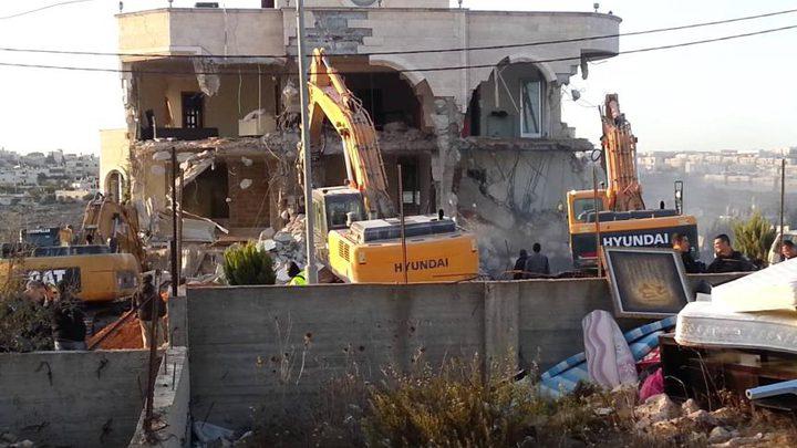الاحتلال يقرر هدم عشرات المنازل الفلسطينية بالقدس