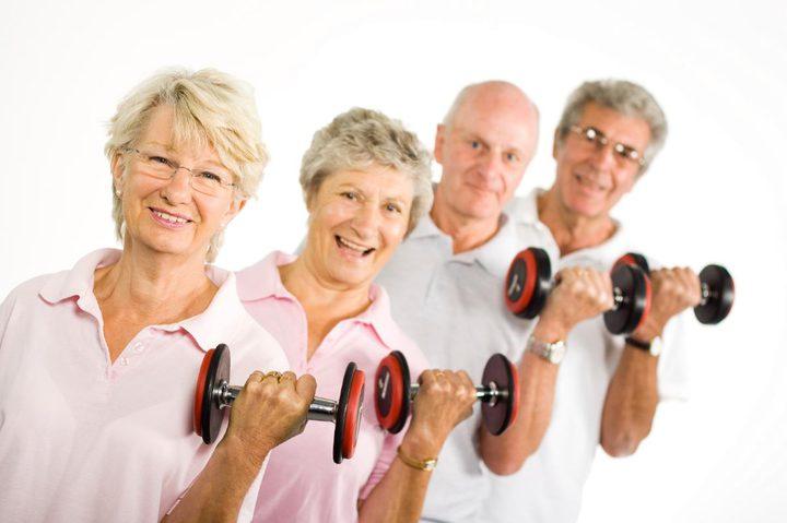 ممارسة كبار السن للرياضة تطيل العمر