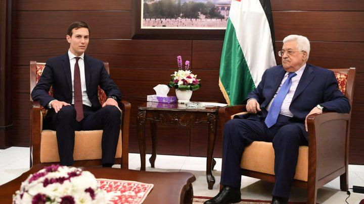 """""""صفقة القرن"""": لا """"دولة فلسطينية"""" والحديث يدور عن """"سلام اقتصادي"""""""