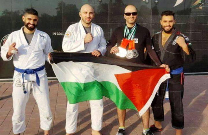 فلسطين تحصد ثلاث ميداليات في بطولة للتايكواندو في المغرب