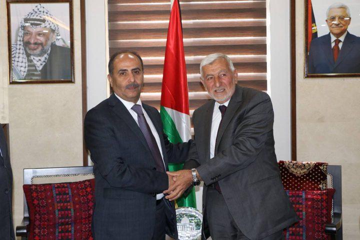 العطاري يتسلم رسمياً مهام وزارة الزراعة