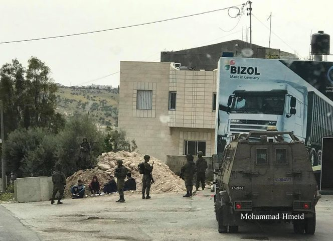 بيت لحم: الاحتلال يحتجز عددًا من طلاب المدارس