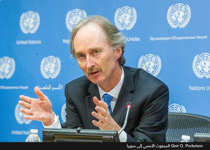 روسيا تدعو بيدرسن لمفاوضات أستانا في نور سلطان