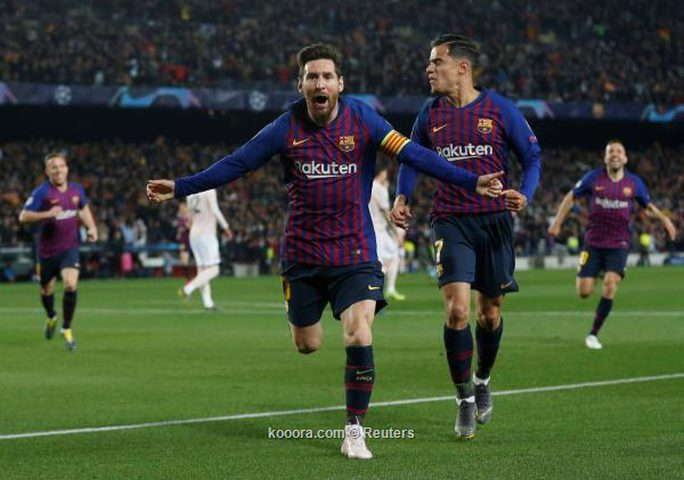 ثلاثية برشلونة تنهي معجزات مانشستر يونايتد في أبطال أوروبا