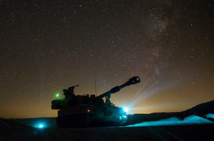 مناورات عسكرية إسرائيلية ليلية بالمناطق الساحلية
