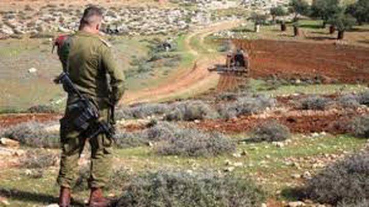 الاحتلال يصادر مئات الدنمات ويعزل 5 قرى بالاغوار