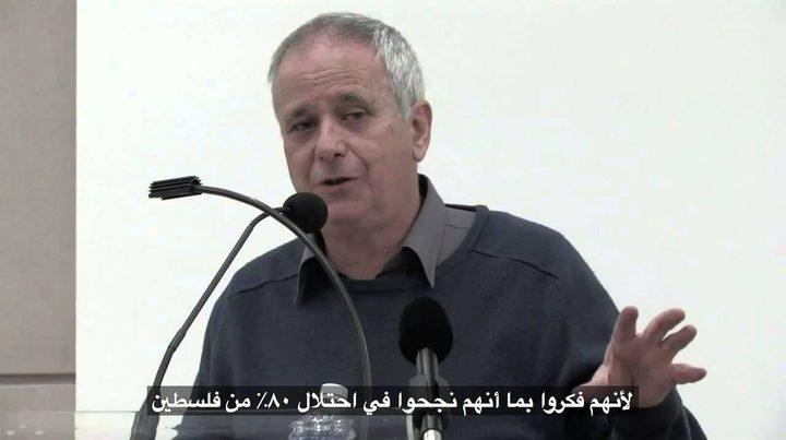 مؤرخ وناشط إسرائيلي يوجه رسالة تضامنية إلى الأسرى