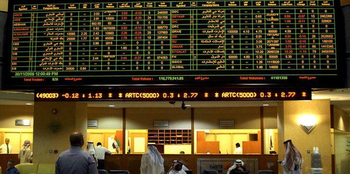 العقارات تصعد ببورصة دبي والقطاع المالي يرفع بورصة السعودية