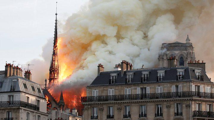 """فرنسا تنظم مسابقة دولية لإعادة بناء برج """"نوتردام"""""""