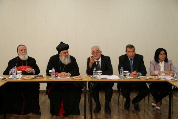 اللجنة الرئاسية العليا لشؤون الكنائس تلتقي البطريرك الراعي