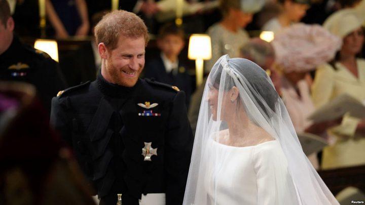 تعرض الأمير هاري وميغان لتهديدات بالقتل يوم زفافهما!