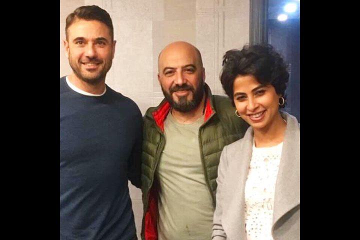 """روبى وأحمد عز بطلان عرض مسرحي بعنوان """"علاء الدين"""""""