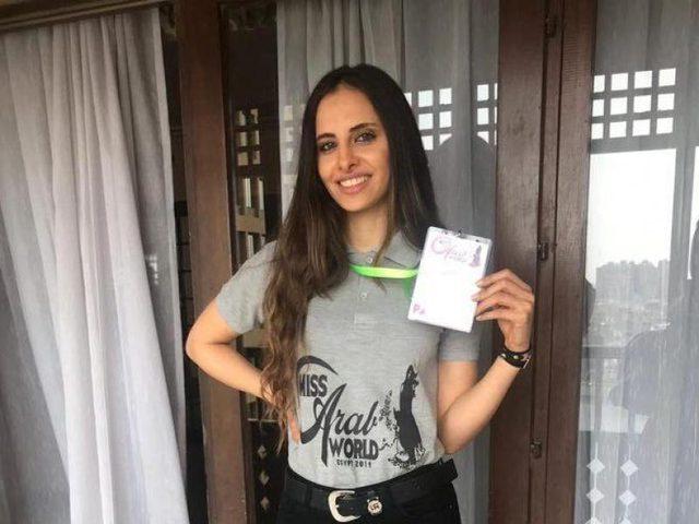 الفلسطينية لورين امسيح تشارك في مسابقة ملكة جمال العرب