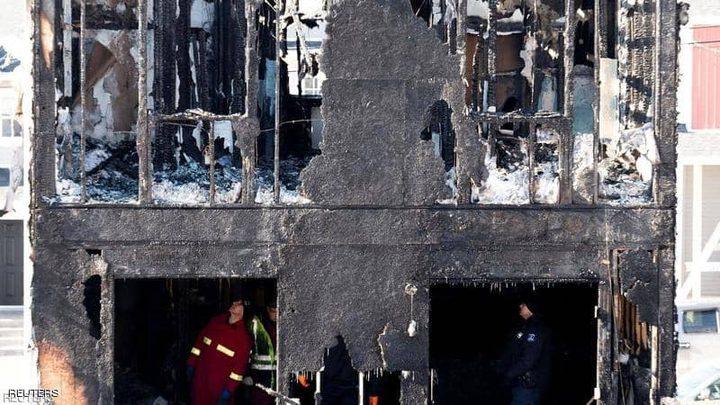 كندا تلم شمل سورية بعائلتها بعد أن فقدت أطفالها السبعة في حريق