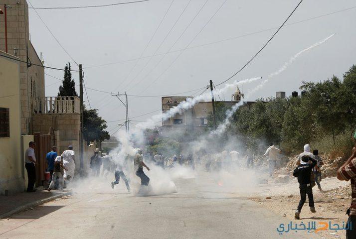 إصابات خلال قمع قوات الاحتلال مسيرة كفر قدوم