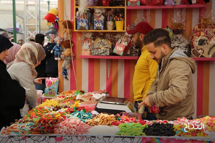 من مهرجان التسوق الوطني 2019 المقام على أرض جامعة النجاح الوطنية- نابلس، الحرم الجامعي الجديد ما بين 14-20 نيسان.