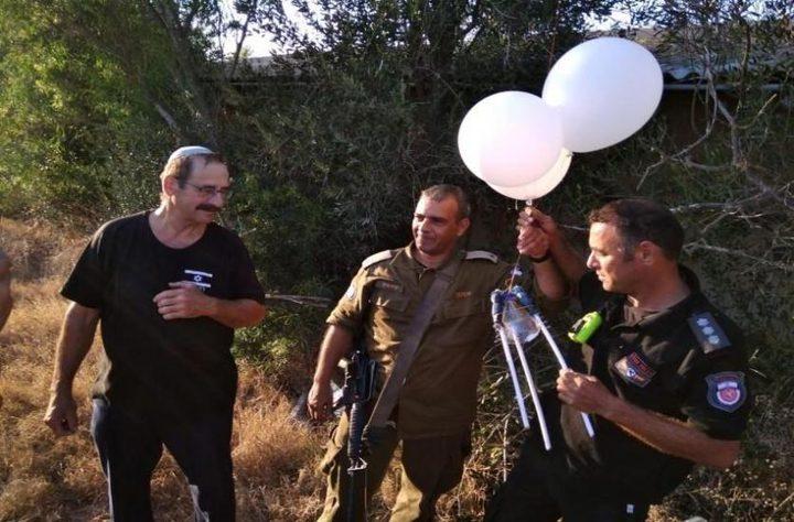 """الاحتلال يزعم العثور على """"بالون"""" في مستوطنة عسقلان"""