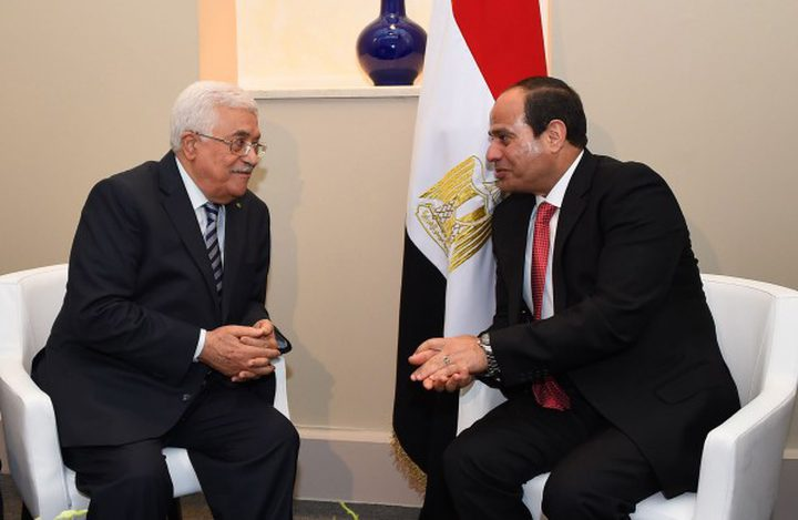 غداً...الرئيس محمود عباس يلتقي نظيره المصري