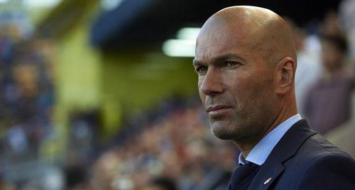 زيدان يعلن انتهاء موسم لاعب ريال مدريد